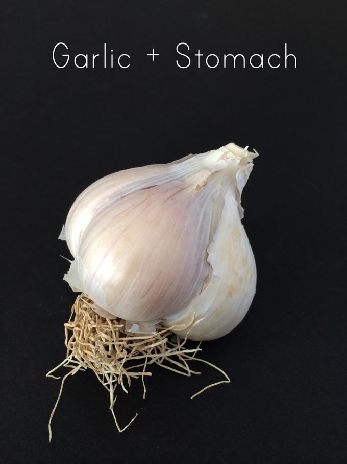 Garlic and Stomach Ache