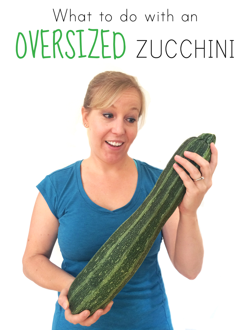 how to use a large zucchini