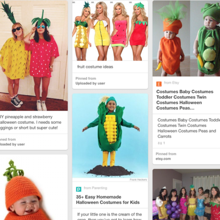 Fruit Halloween costumes