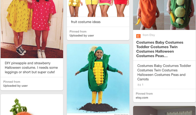 Fruit and Vegetable Halloween Costumes