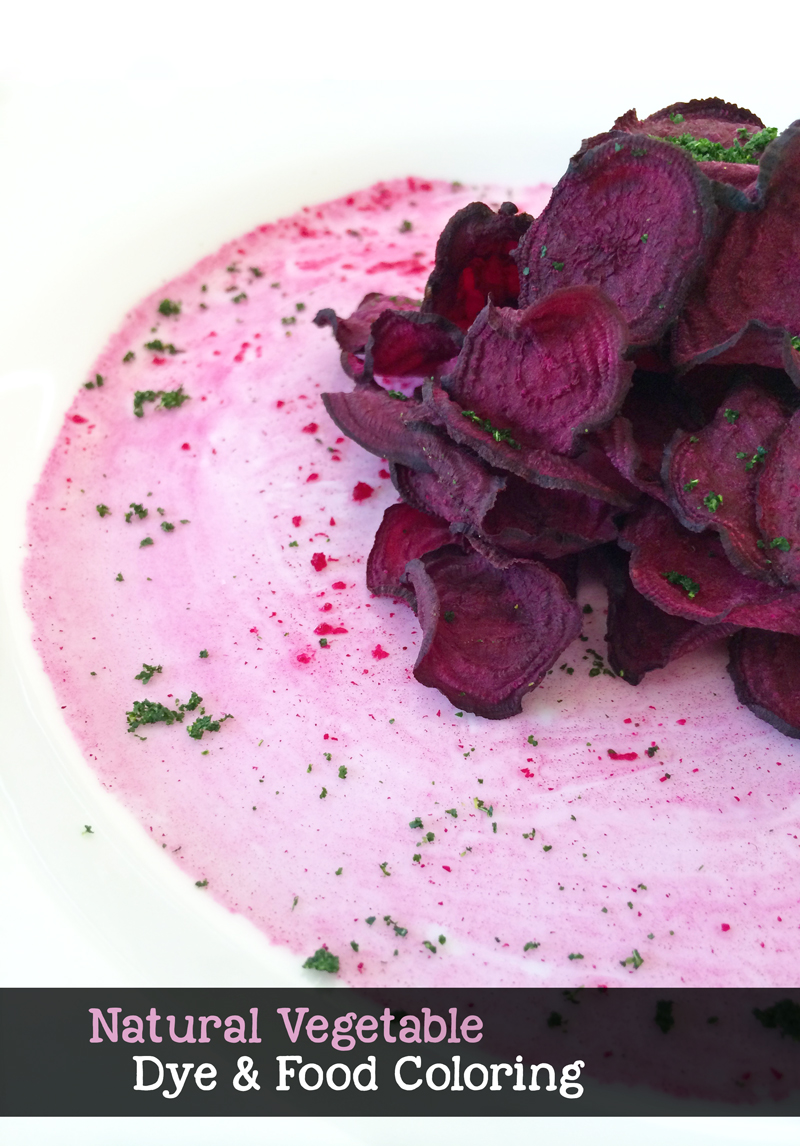 Natural Vegetable Dye and food coloring