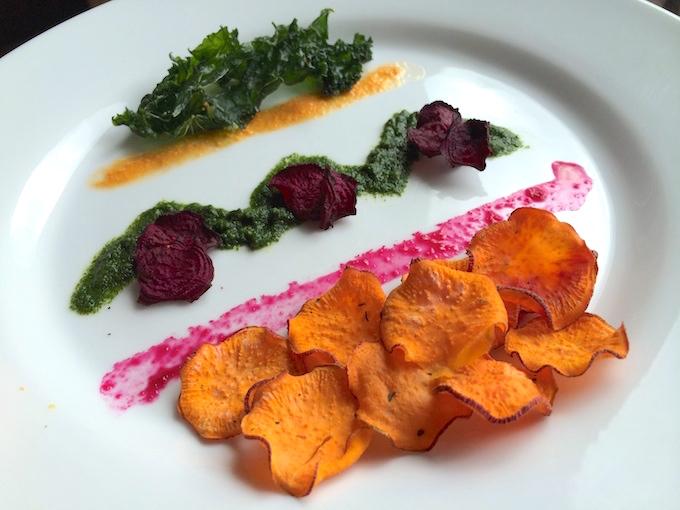 Plate vegetable Dye 03